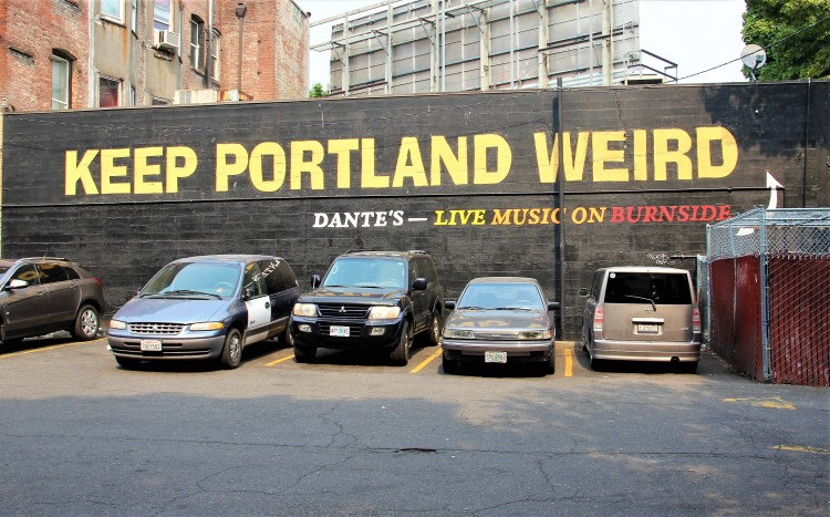Get Weird In Portland Oregon