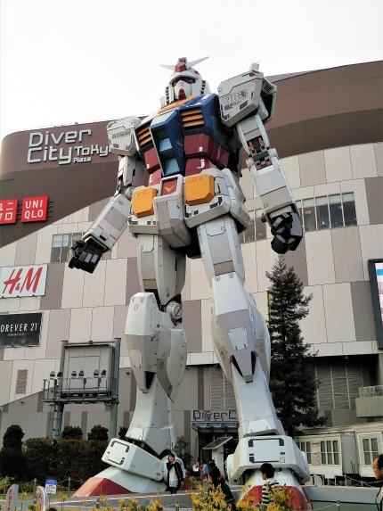 Odaiba Diver City Gundam