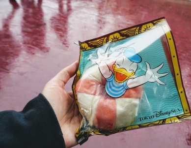 Ukiwa Bun filled with shrimp at DisneySea