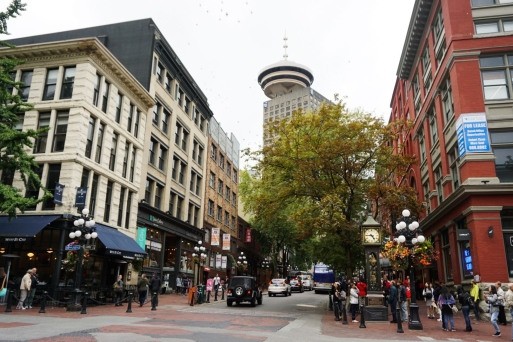 Gastown in Vancouver, Canada