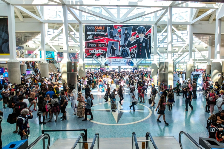 Main Hall at Anime Expo