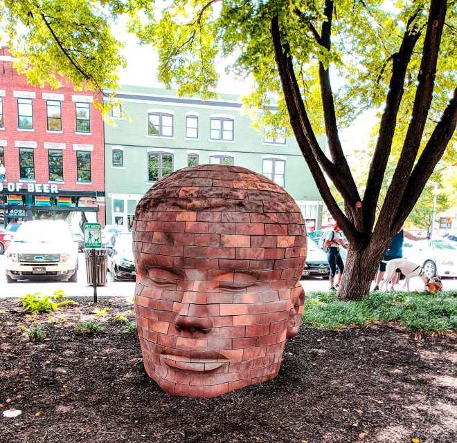 Mass Ave Sculptures