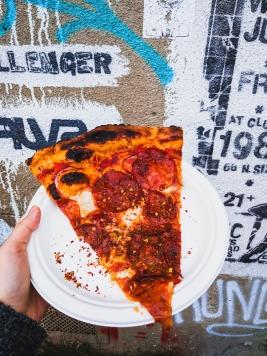 Chorizo Pizza at GTA