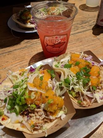 Smoked Fish Tacos at Pier 76